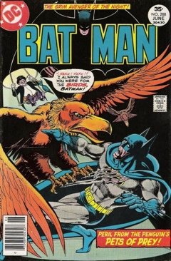 Batman - 288 cover