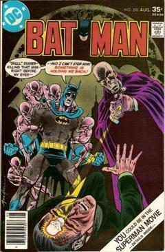 Batman - 290 cover