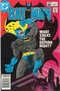 Batman - 351 cover