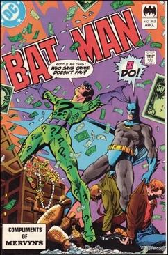 Batman - 362 cover