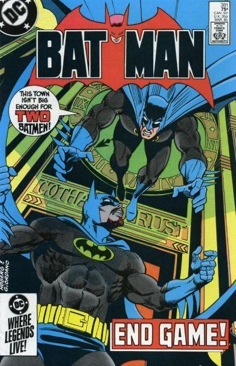 Batman - 381 cover