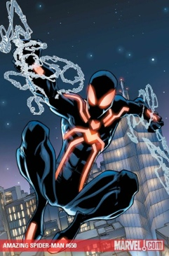The Amazing Spider-man - 650 cover