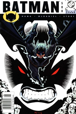 Batman - 580 cover