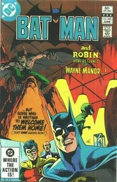 Batman - 348 cover