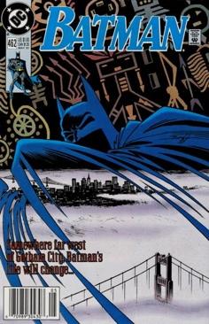 Batman - 462 cover