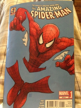 The Amazing Spider-man - 679.1 cover