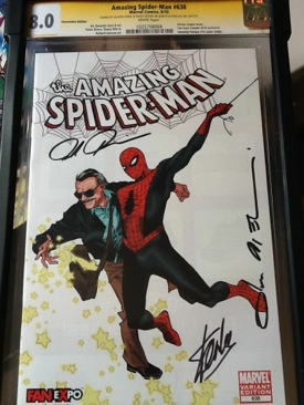 The Amazing Spider-man - 638 cover