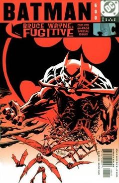 Batman - 600 cover