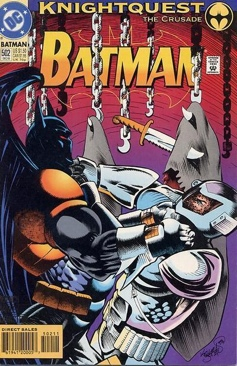 Batman - 502 cover