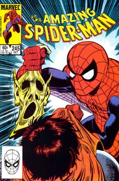 The Amazing Spider-man - 245 cover