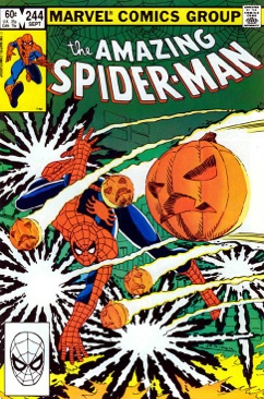 The Amazing Spider-man - 244 cover