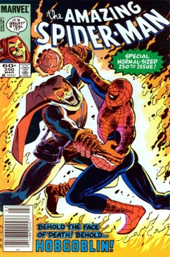 The Amazing Spider-man - 250 cover