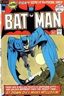 Batman - 241 cover
