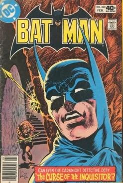 Batman - 320 cover