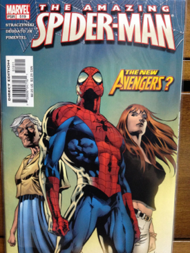 The Amazing Spider-man - 519 cover
