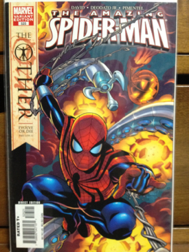 The Amazing Spider-man - 525 cover