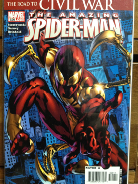 The Amazing Spider-man - 529 cover