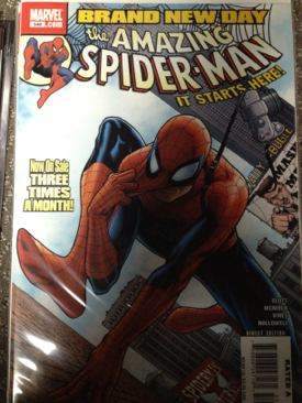 The Amazing Spider-man - 546 cover