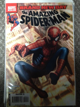 The Amazing Spider-man - 549 cover