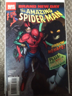 The Amazing Spider-man - 550 cover
