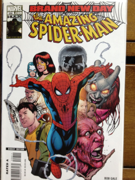 The Amazing Spider-man - 558 cover