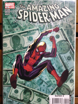 The Amazing Spider-man - 580 cover