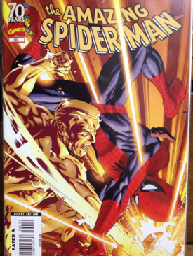 The Amazing Spider-man - 582 cover