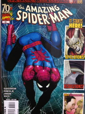 The Amazing Spider-man - 584 cover