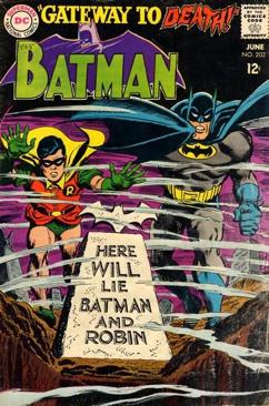 Batman - 202 cover