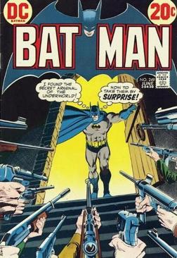 Batman - 249 cover