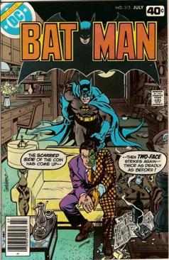 Batman - 313 cover