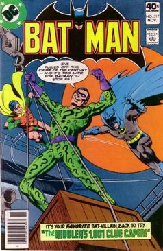 Batman - 317 cover