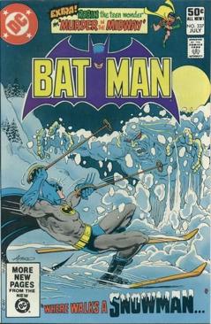 Batman - 337 cover