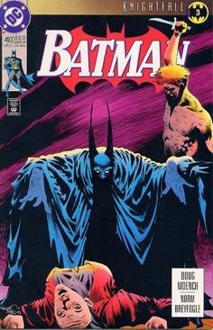 Batman - 493 cover