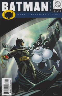Batman - 579 cover