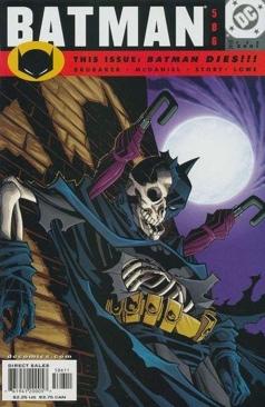 Batman - 586 cover