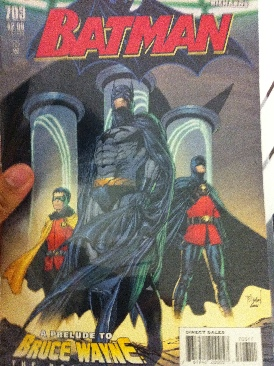 Batman - 703 cover