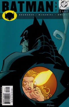 Batman - 597 cover