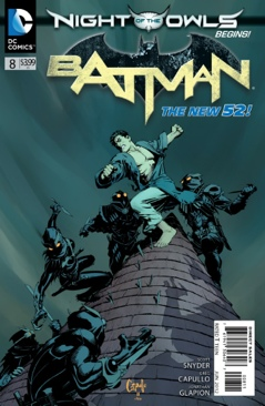 Batman - 8 cover