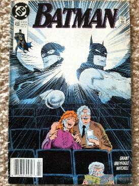 Batman - 459 cover