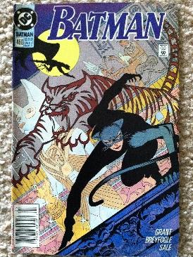 Batman - 460 cover