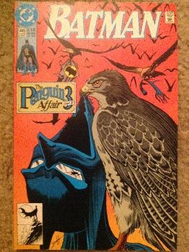 Batman - 449 cover