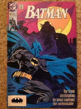 Batman - 463 cover