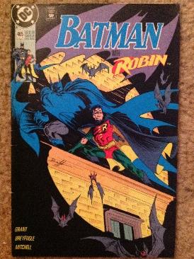 Batman - 465 cover