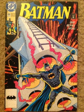 Batman - 466 cover