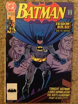 Batman - 468 cover