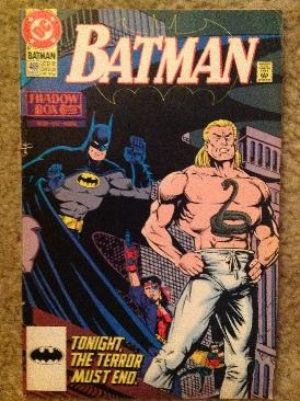 Batman - 469 cover