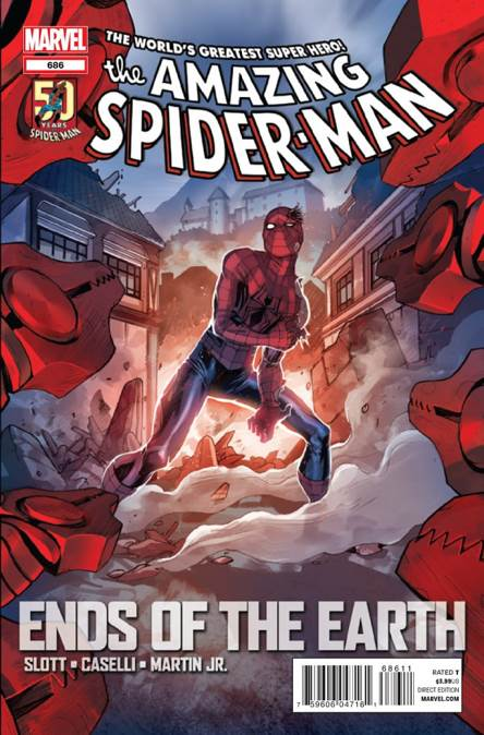 The Amazing Spider-man - 686 cover