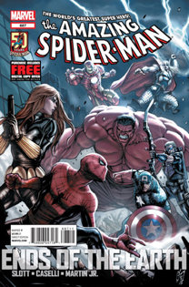 The Amazing Spider-man - 687 cover