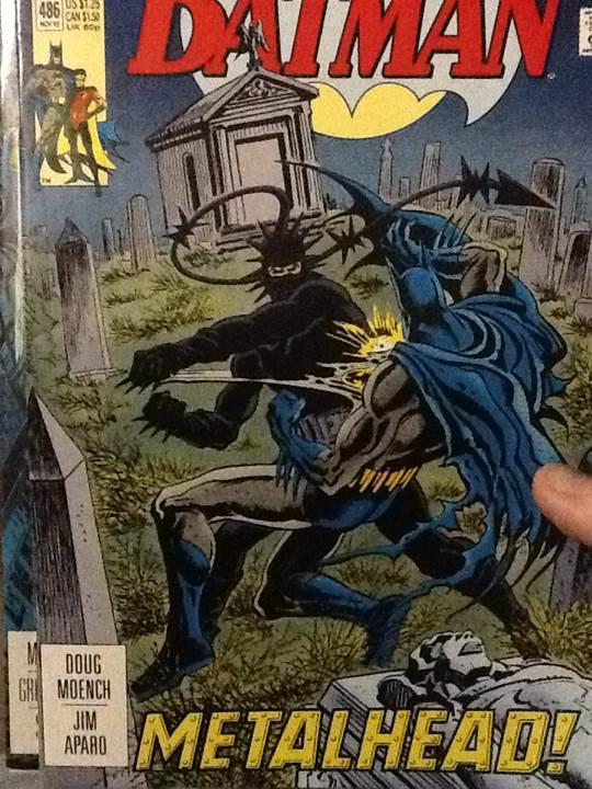 Batman - 486 cover